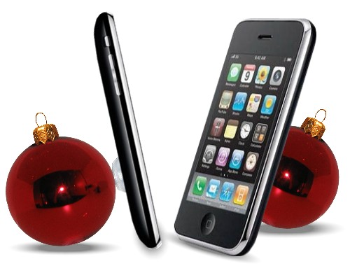 IPhone-Halter Christbaumkugel