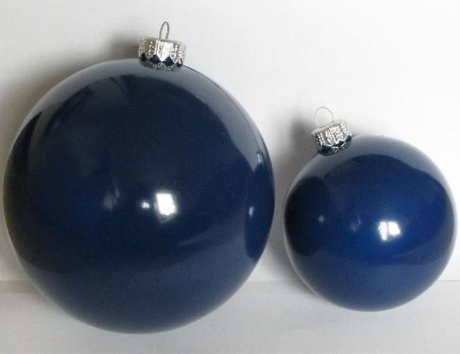 Weihnachtskugeln dunkelblau weihnachten 2018 - Blaue christbaumkugeln ...