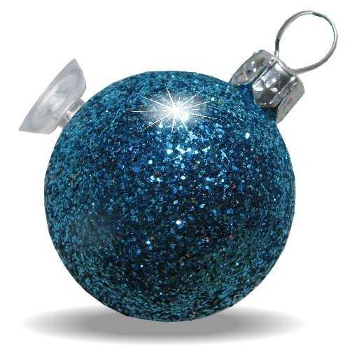 Christbaumkugeln aus kunststoff mit glitzer - Blaue christbaumkugeln ...
