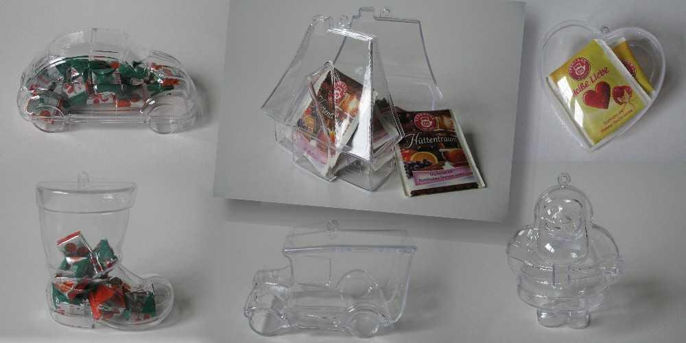 kugeldosen aus kunststoff glasklar. Black Bedroom Furniture Sets. Home Design Ideas