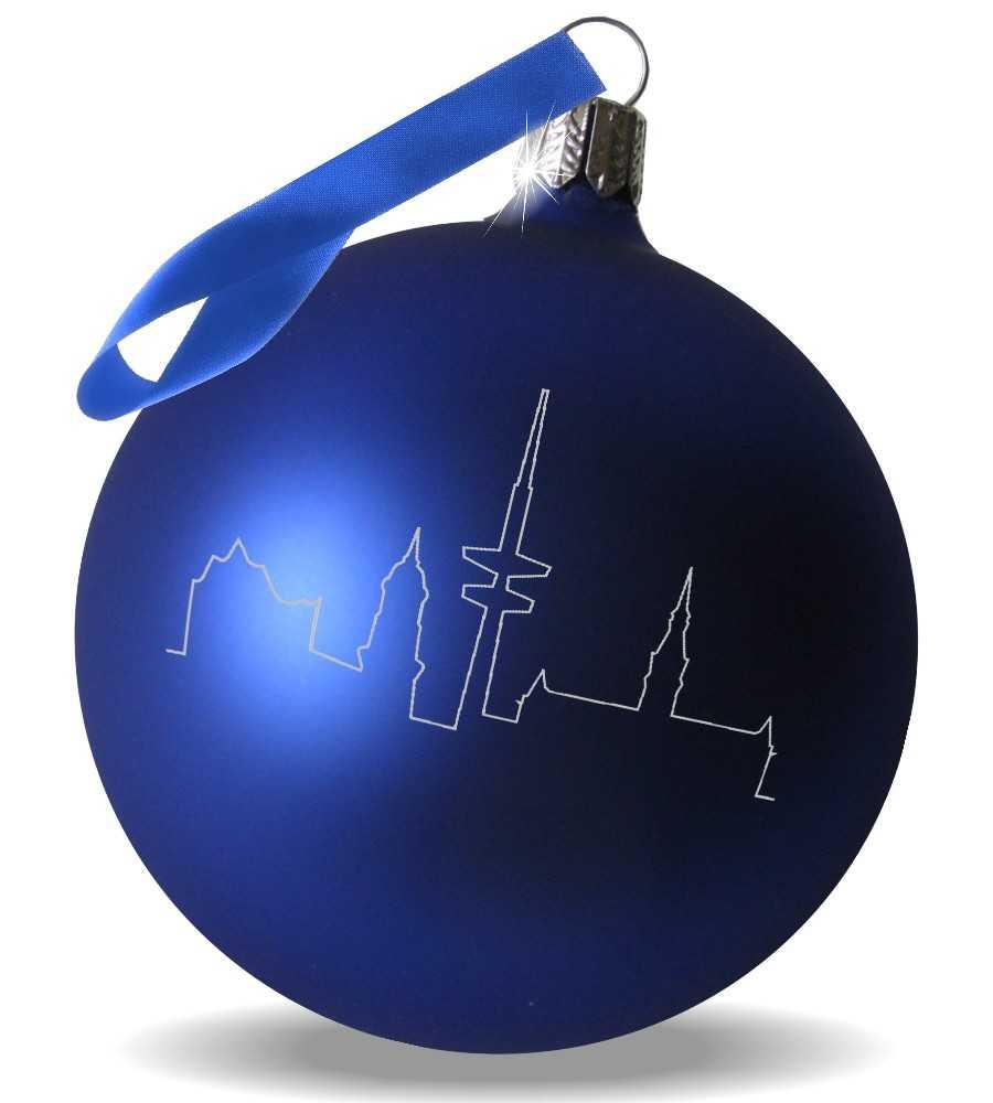 Weihnachtskugeln k nstliche weihnachtsb ume und - Blaue christbaumkugeln ...